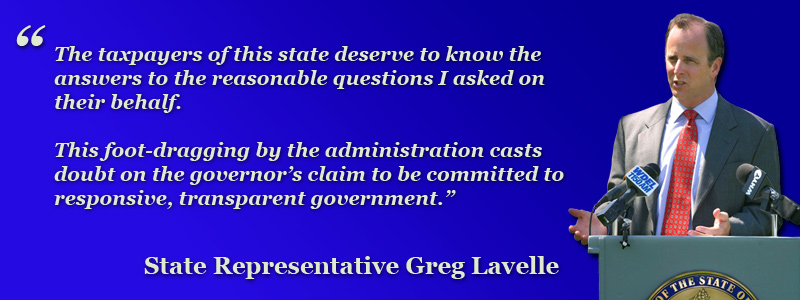 The taxpayers of this state deserve to know the answers to the reasonable questions I asked on their behalf.